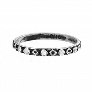 Change - anello unisex in argento naturale